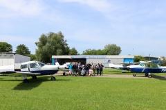 Gruppenfoto vor Abflug in Speyer
